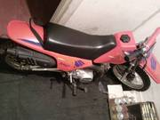 kids dirt bike, almost brand new condition, 2 helmets, any inspection welcome, rarel