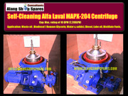 Alfa Laval centrifuge - oil purifier for removing sludge and water fro