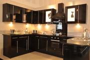 Black Hi Gloss Kitchen For Sale