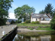 Self catering and events business on an island on Loch Lomond