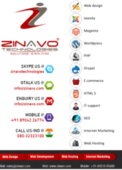 Web Design, Development and SEO Company - Zinavo