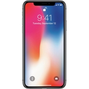 Apple - iPhone X 256GB - Space Gray (AT&T) llpp