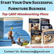 Make 16, 000 Woodworking Projects with Step By Step Plans
